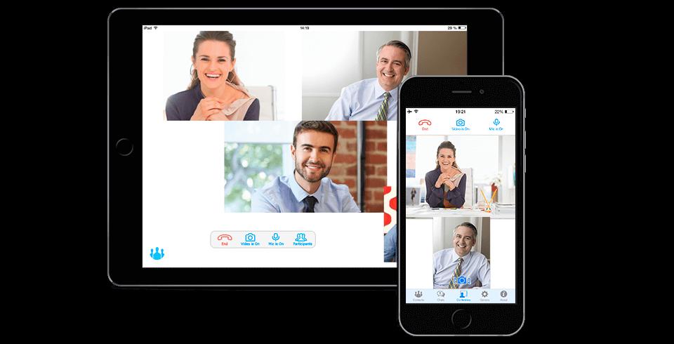Logiciel de visioconférence TrueConf pour iPhone/iPad