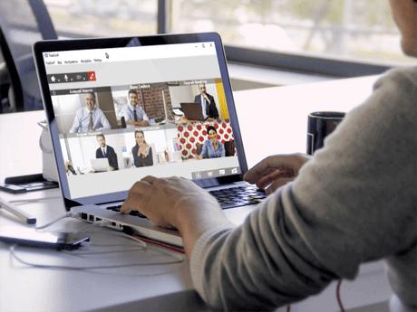 Vidéoconférence sur Internet